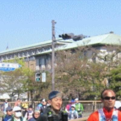京都市美術館前 START!!