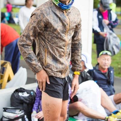 沖和彦です。走ることでメッセージを伝えるコーチです