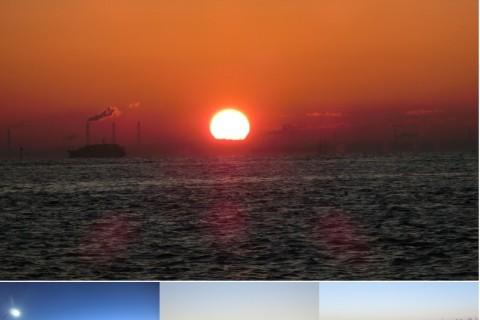 2021年元旦 東京湾の初日の出を拝むファンラン