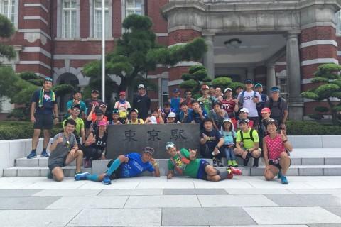 東京のマラソンコース試走!