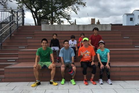 草津ランング指導「無理なく走れる身体と走る理解力をはぐくむ指導」練習会4