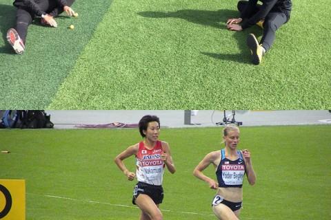 オリンピアン中村友梨香とスポーツトレーナーによるランニング教室