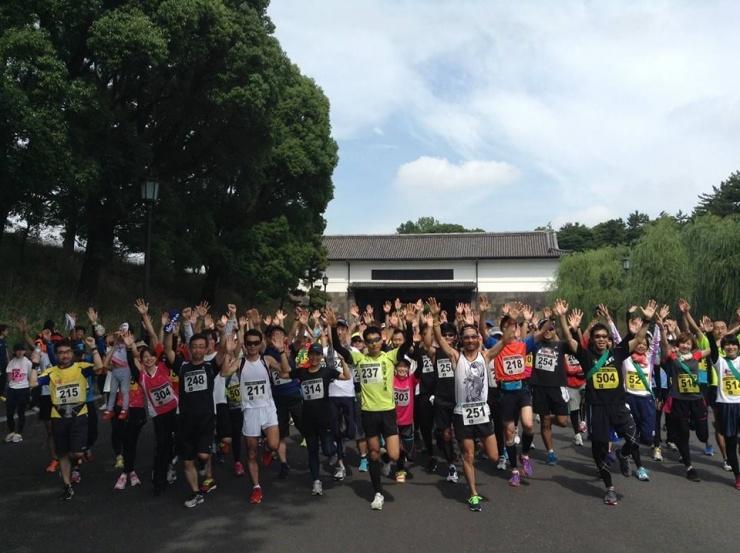 皇居Cityマラソンは開催回数100回を超える、老舗実行委員会です。