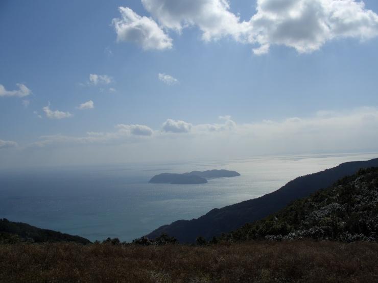 国生み神話の島 見下ろし