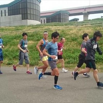 躍動感のある走行中の写真もお撮りします。写真は4月頃の大会より