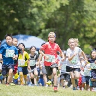 第5回 YAMANASHI Jr TRAIL RUN in 武田の杜