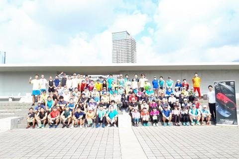 冬のペース走20~30キロ HAT神戸
