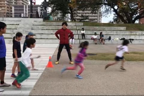 皇子山・キッズランニング指導「走らないトレーニング&1000mインターバル」~綺麗に走る指導~