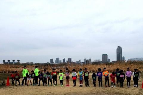 第2回足立区都市農業公園「小学生のマラソン大会」