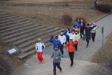 「京都マラソン2019 観光ラン&ウォーキング」観光ランの部(後半:1/19実施)