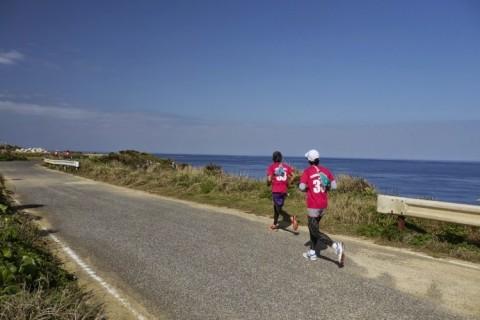 花の島沖えらぶジョギング大会