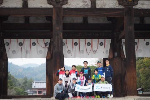 「京都マラソン2019 観光ラン&ウォーキング」試走会の部(前半:2/3実施)