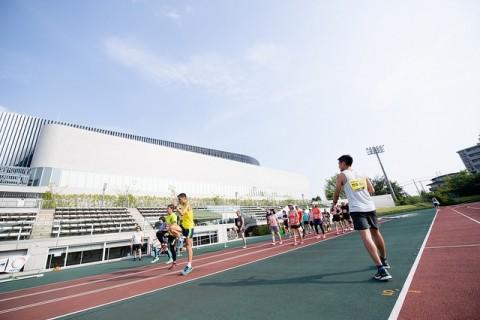 竹澤健介選手に学ぶ 聖蹟サンタマラソン練習会
