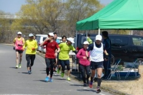 前橋・渋川シティマラソン30kmタイムトライアル