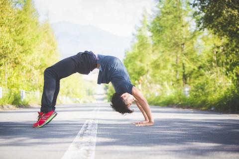京都・勧修寺キッズランニング指導「遊びで磨かれる綺麗な走り」