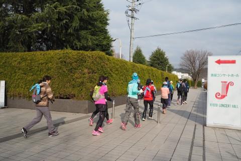 「京都マラソン2019 観光ラン&ウォーキング」観光ウォーキングの部(後半:12/22実施)