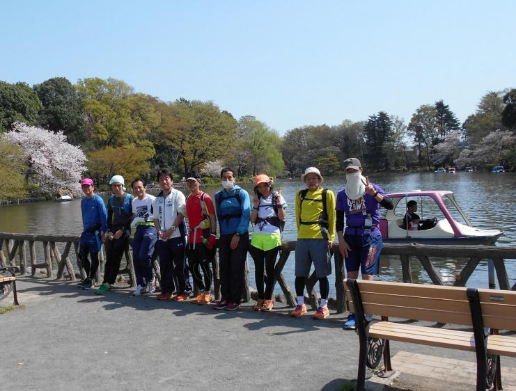 成人の日に武蔵野観光ラン!神田川、井の頭公園、善福寺池、妙正寺池を巡る21km&10km