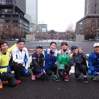 東京マラソンコース試走会