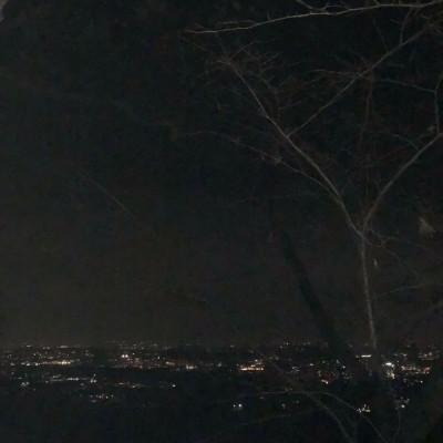 山頂の夜景