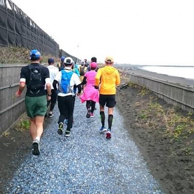 茅ヶ崎〜江ノ島と続くサイクリングロード