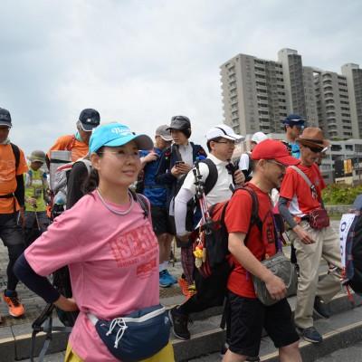 第4回琵琶湖一周ウルトラフリーウォーキング 100km