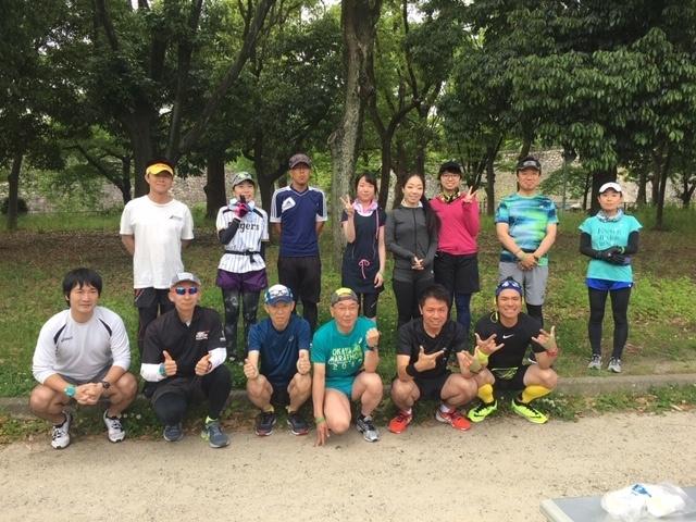 大阪城公園定例ロード記録会