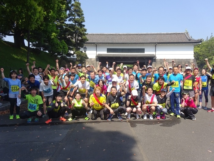 第102回《東日本大震災復興支援ラン》皇居マラソン&リレーマラソン大会