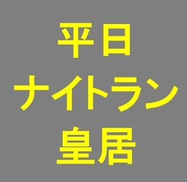 月1ロング走 皇居ナイトラン 無料 初心者向け