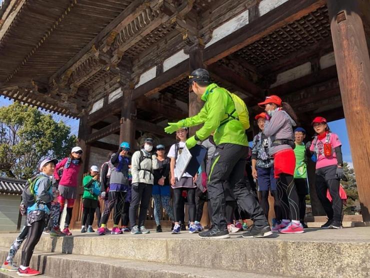 観光マラニック。 京都検定合格者が京都を走りながら案内します。