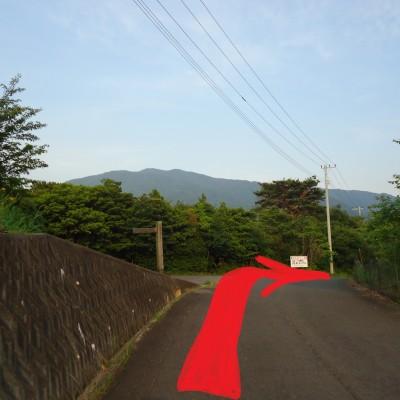 最高地点仰ぎながら10km近く上下左右に舗装路くねくね
