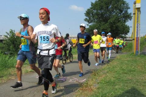 第86回月例チャレンジつるみ川20km・30km・40km