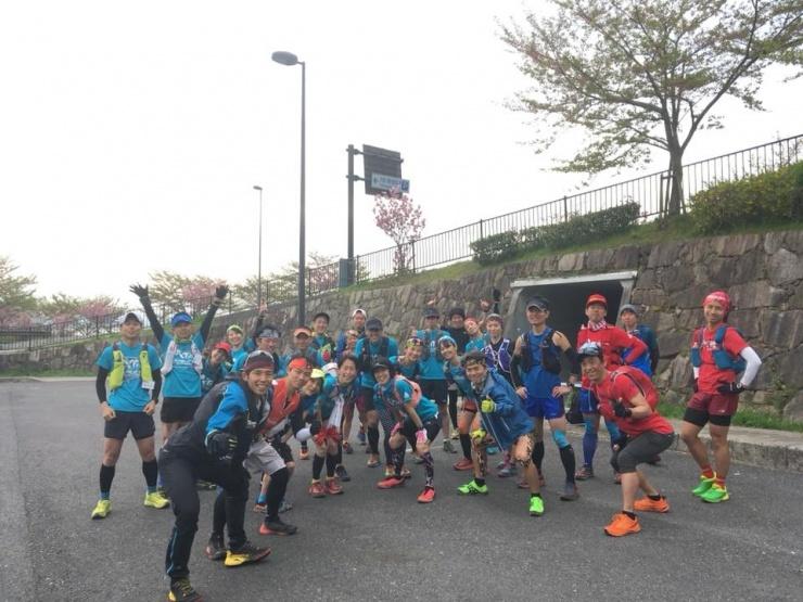 4/13比叡山インターナショナル完走練習 もたて山チャレンジ