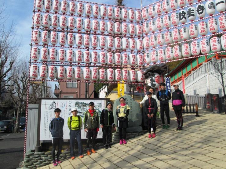 早稲田にあるマラソン大会記録更新、健脚祈願のパワスポです