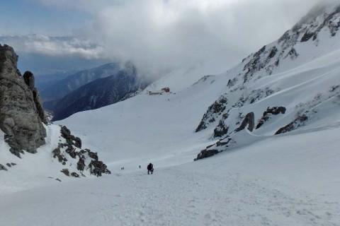 ≪ワンデルング≫[長野]雪のアルプス!チャレンジ木曽駒ヶ岳(残雪期)【上級】