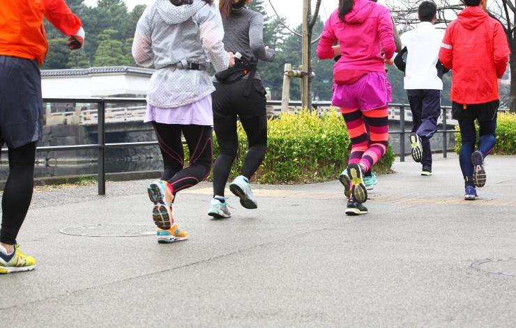第115回皇居Cityマラソン&親子funラン Supported by グリコパワープロダクション