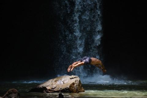 大人チャレンジ15k 30k 嵐山ーポンポン山トレイル 涼しい川辺でbbq