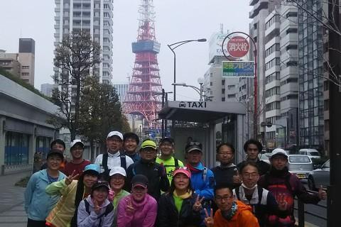 東京マラソンコース体験ラン 約42キロ キロ約7分 3200円