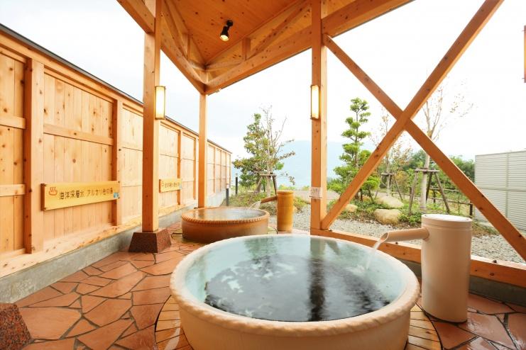 主会場近く温浴施設・夢古道の湯