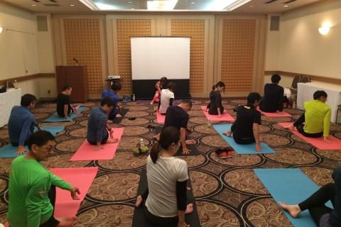 講義【ラン&ヨガ】+札幌マラソン対策:札幌エクセルACランニング教室
