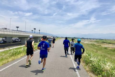 ★マラソンボディへ! 月例LTD練習会「重信川編(最長32.195km)」