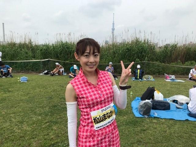 ゲストはタレントの松山まなかさん。2018年東京マラソンで念願のサブ3達成の頑張り屋さんです。