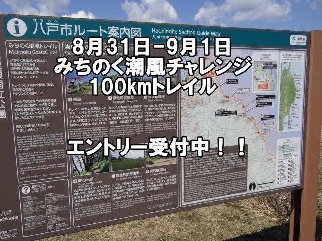 みちのく潮風チャレンジ100kmトレイル