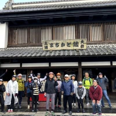 土浦はグルメと歴史と蔵の街です。