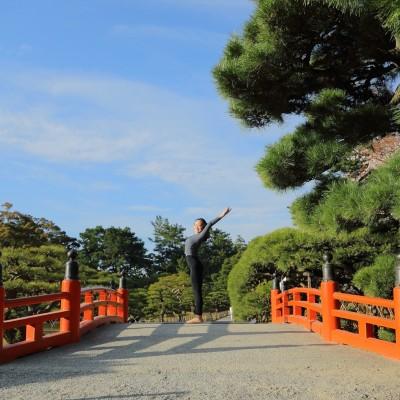 KANA yoga @栗林公園