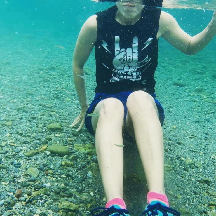 水の中でもok♪(