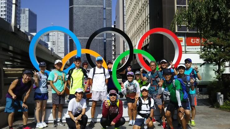 東京のマラソンコース体験ラン  約42キロ 21キロ キロ約7分 3300円