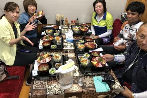 城下町土浦りんりん食べ歩きサイクリング10月6日(日)海鮮スペシャル