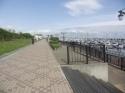 ヨットハーバーもある 西宮浜