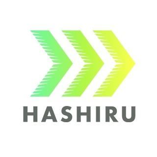 NPO法人HASHIRUのロゴです。