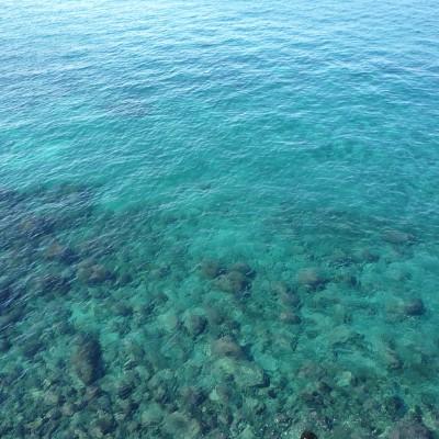 土肥の海はこんなに綺麗です(^^)